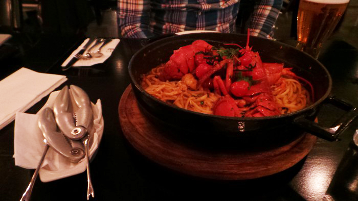 Lobster for Two at Maison Mathis 1