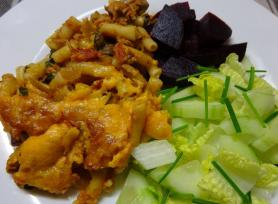 Tuna, Vegetable and Macaroni Bake