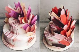 Brushstroke Cakes