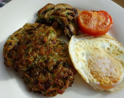 Leek & Potato Rosti Brunch