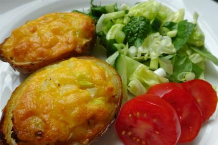 Ten Simple Ideas For Filled Potato Skins